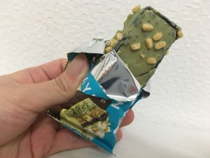 Layered Protein Bar Matcha Flavor