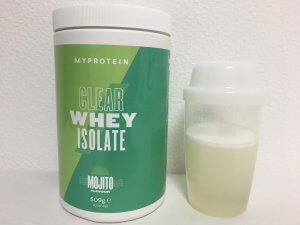 clear_whey _isolate_mojito